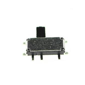 Mini 7 pinos Ligado/desligado 1p2t Spdt Msk-12c02 Smd Alternar interruptor de slides para Mp3 Mp4