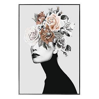 Tavla Hair Flower (120 x 80 x 2,5 cm)