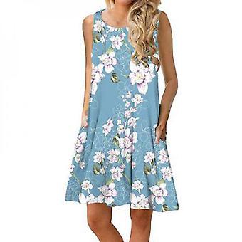 Women's Sleeveless Dress With Pockets