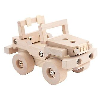 Giocattoli in legno per bambini Modello assemblato Oyuncak