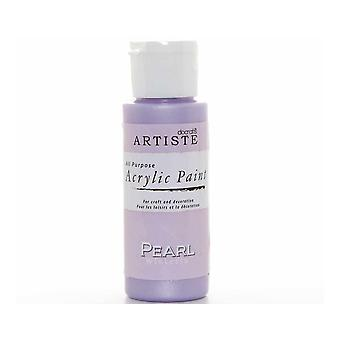 Pearl Wisteria docrafts Artiste All Purpose Acrylique Craft Paint - 59ml