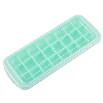 2pcs Ice Molds with Cover Silicone DIY Ice Making Molds Popsicle Ice Cube Trays