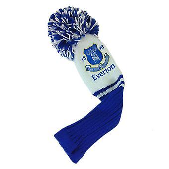 Everton FC Headcover Pompom (Fairway) Officiell licensierad produkt