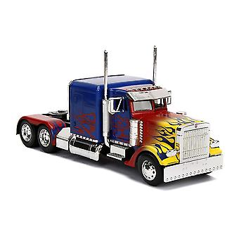 Transformers T1 Optimus Prime Die-cast Vehicle, Scale 1:24