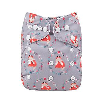 Cloth Diapers Baby Washable Baby Nappy With Microfiber Insert