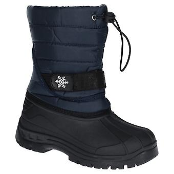 Cotswold kid's icicle toggle lace snow boot various colours 27946