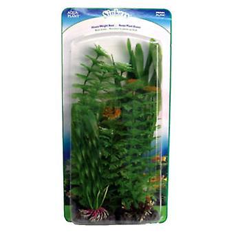 Penn Plax Green Aquarium Plant Value Pack Verschiedene Größen - 4 Zähler
