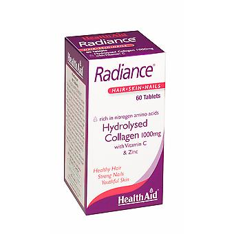 Health Aid Radiance (Hydrolysed Collagen 1000mg with Vit C), 60 Tablets