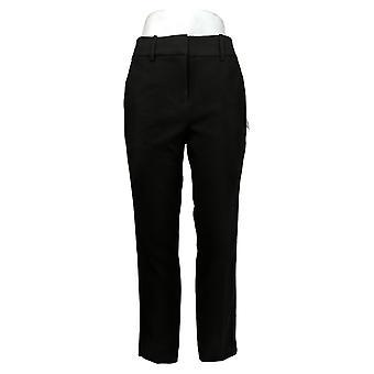 Kirkland Signature Women's Pants Polyester W/ Side Pockets Black