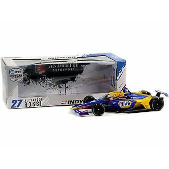 Indy Car Alexander Rossi #27 Andretti 1:18 Feu vert 11110