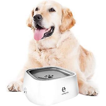 Lemmikkieläinten vesikulho, anti-overflow kelluva vesikulho koirakissoille