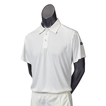 Gunn & Moore GM Cricket Maestro Mens Shirt Short Sleeve Sports Clothing