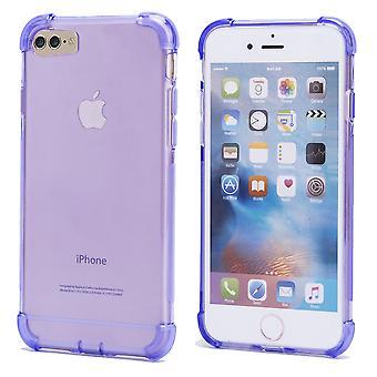 32. hart Gel Case + Stift für Apple iPhone 7 / iPhone 8 - lila