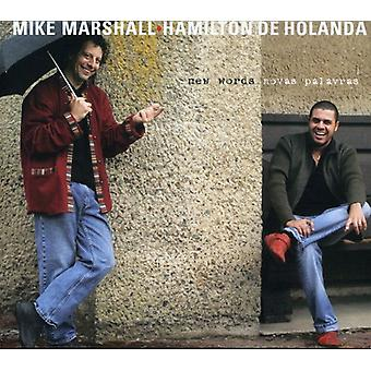 Mike Marshall & Hamilton De Holanda - New Words (Novas Palavras) [CD] USA import