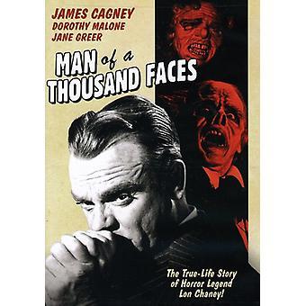 Homem de mil Faces [DVD] EUA importar