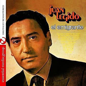 Juan Legido - El Emigrante [CD] USA import
