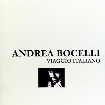 Andrea Bocelli - Viaggio Italiano [CD] USA import