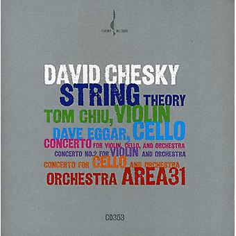 Chesky, David/Chiu/Eggar - David Chesky: String Theory [CD] USA import