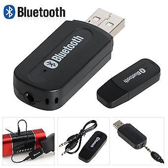 Strumieniowanie A2DP kompatybilny odbiornik Bluetooth Dongle TRIXES USB HiFi Stereo samochodu Radio 3,5 mm AUX muzyki