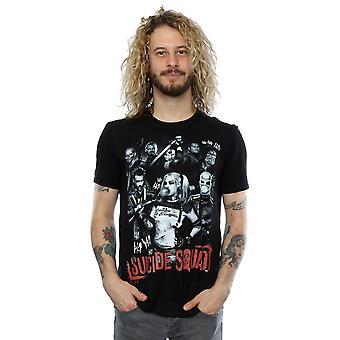 Suicide Squad mäns Harleys gänget T-Shirt