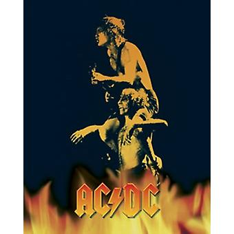ACDC - Bonfire Poster Poster Print