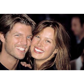 Petra Nemcova und Freund Modell Donaes Plateel bei Premiere davon läuft In der Familie Ny 4132003 von Cj Contino Berühmtheit