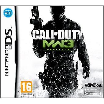 Call of Duty Modern Warfare 3 (Nintendo DS) - Nouveau