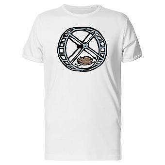 Chomika na koła Koszulka męska-obraz przez Shutterstock