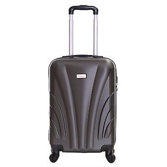 Slimbridge Ferro 55 cm valise dur, gris foncé