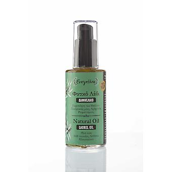 Natural Laurel Oil, for Ηair care and against Stiff muscles 60ml.