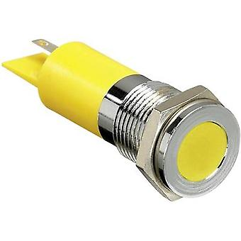 APEM LED indicator light White 24 V DC Q14 F1 CXXW 24E