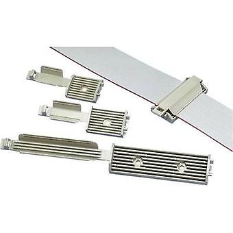 Panduit FCM2-A-C14 FCM2-A-C14 kabel fäste för flatkabeln grå 1 dator