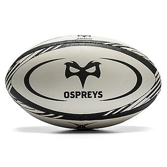 Unbranded Ospreys Replica Rugby Ball