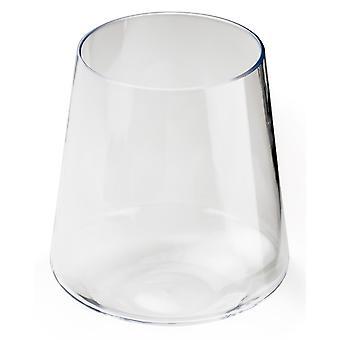 GSI на открытом воздухе Stemless вино стекла без черешка конструкция позволяет для стабильности белый