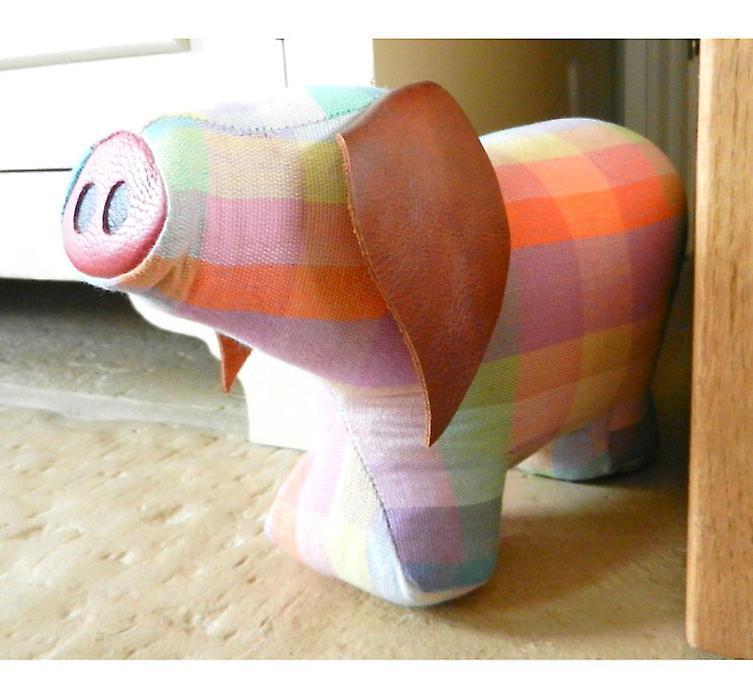 Elma Vérifiez Cochon porte Banger / Doorstop par Monica Richards