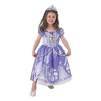 Sofia de eerste klassieke prinses jurk Disney oorspronkelijke kind kostuum