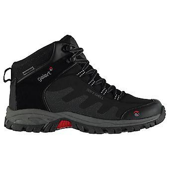 Gelert Mens Softshell medio wandelen laarzen Lace Up ademend Waterproof