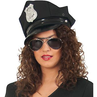 Politiet Hat Cap 58 cm politiet sort