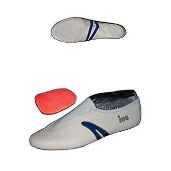 » AIT-403 «convertir zapatillas de ballet / zapatillas de arte / zapatos, blancas (talla 29-46)»
