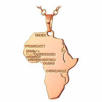 U7 Afrikahalsband - Rosé