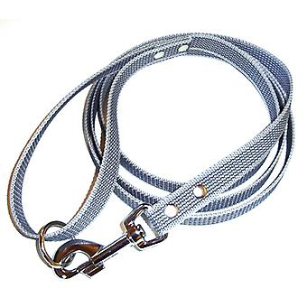 K9-Sport Super-Grip leash with handle, silver