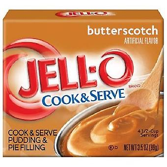Jell-O Butterscotch Cook & Serve Pudding en Pie vulling
