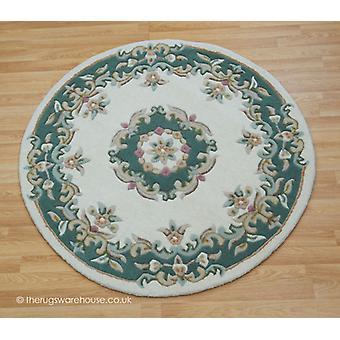 Royal Ivory Green Circle