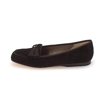 ARRAY Womens Leah Leather Square Toe Loafers