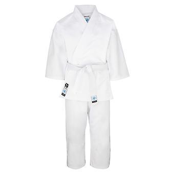 Bytomic Kinder Studenten weißen Karate Uniform