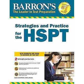 Strategies and Practice for the HSPT by Sandra Martin - 9781438010946