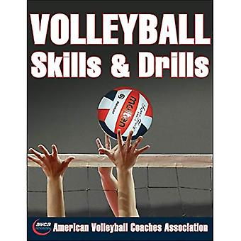 Volleybal vaardigheden en boren