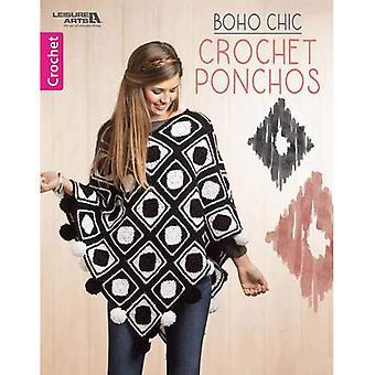 Boho Chic virka Ponchos (fritid Arts)