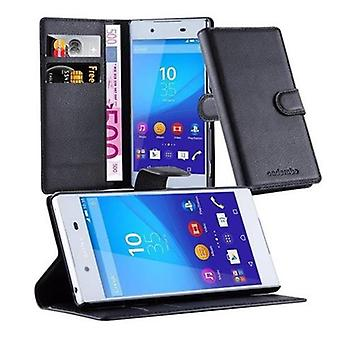 Cadorabo Case for Sony Xperia Z3 PLUS Foldable Phone Case - Cover - with Stand Function and Card Slot