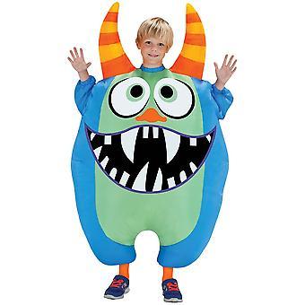 Blue Inflatable Scareblown Child Costume